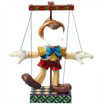 visage Pinocchio