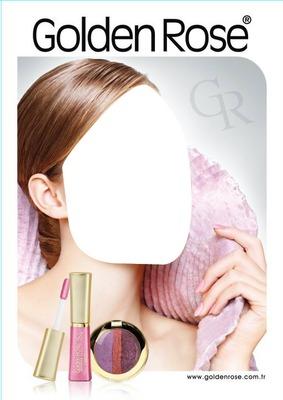 Golden Rose Makeup Advertising
