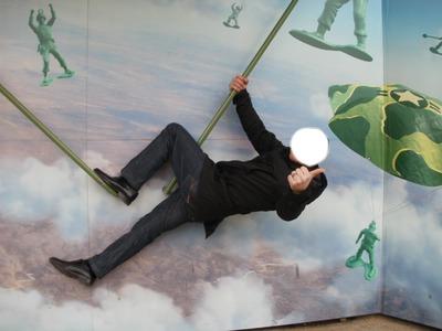 mon papa parachutiste.