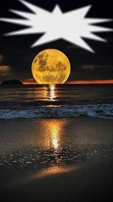sur la lune