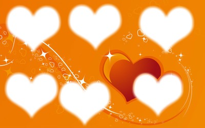 les 6 petits coeurs
