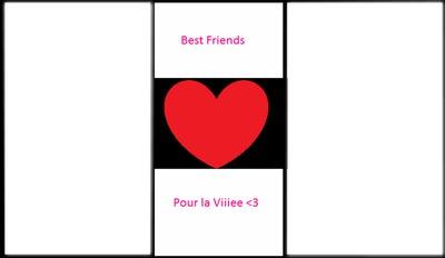 """Cadre """"Best friends pour la vie"""""""