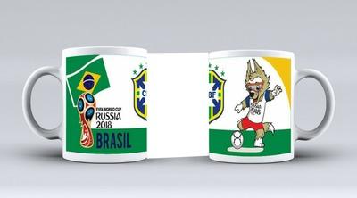 mundial 2018 taza brasil
