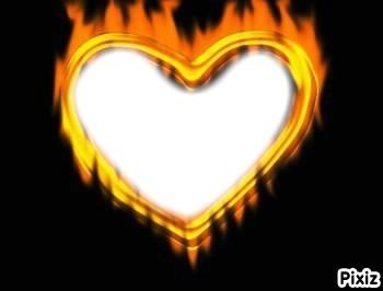 coeur enflame