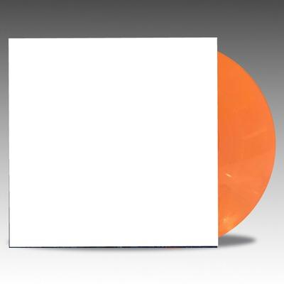 orange coloured vinyl