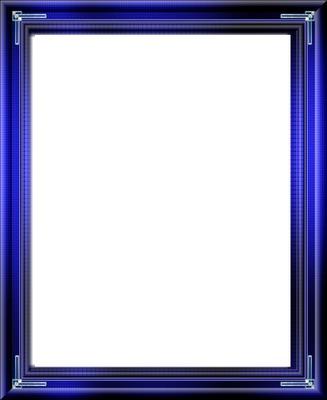 cadre bleu foncé bleu