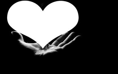 un coeur dans la main 1 photo