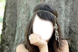 fille brune