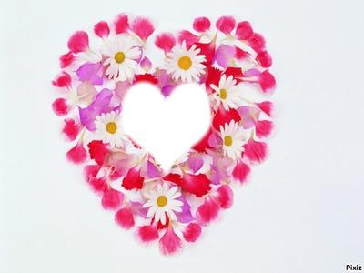 coeur de fleurs