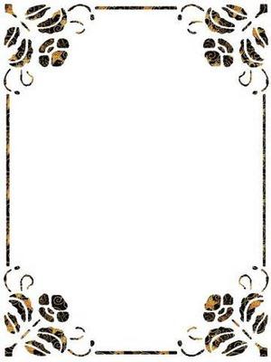 cadre fleur deco