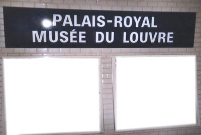 Palais-Royal Musée du Louvre Station Métro