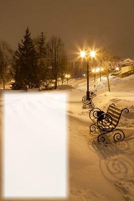 Paseo con nieve
