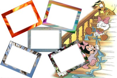 Cadre pour enfants 5 photos
