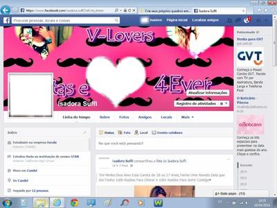 Perfil V-Lovers Facebook