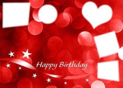 birthday red