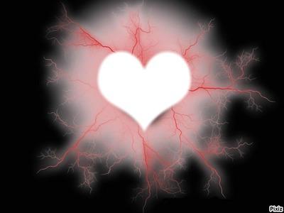 éclair de coeur