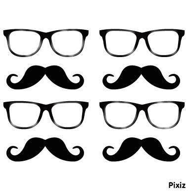 Lunette+moustache