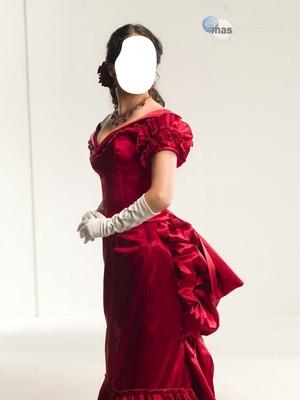 lutina rose robe