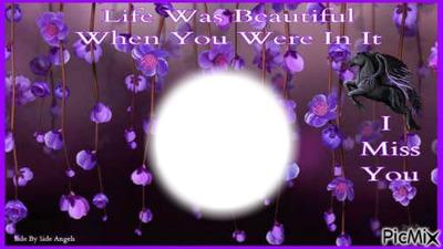 life was beautiful when u were in it bb