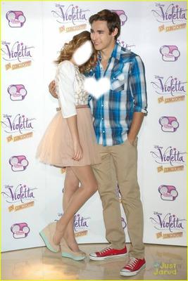 Violetta-Leon-Martina Stoessel-Jorge Blanco
