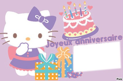 bon anniversaire hello kitty