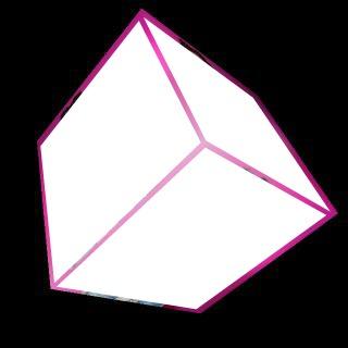 Cubo rosado