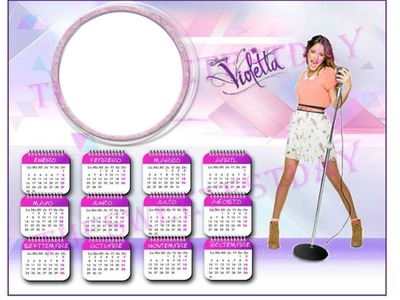 Calendario de violetta