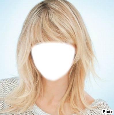 Blonde raide