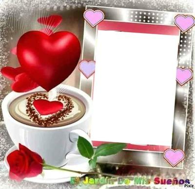 renewilly corazon taza y rosa