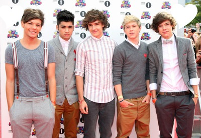 mis ídolos ONE DIRECTION