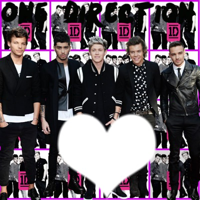 Collage con ONE DIRECTION