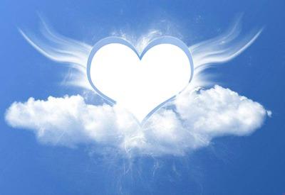 Ange Image photo montage un ange parti au ciel 1 photo - pixiz