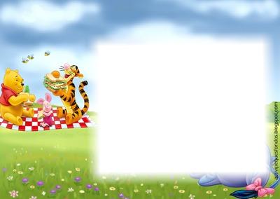 winnie pooh - Winnie The Pooh Picture Frame