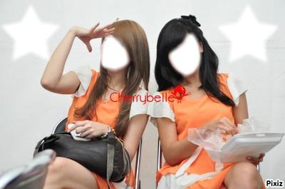 Anisa and Ryn Chibi
