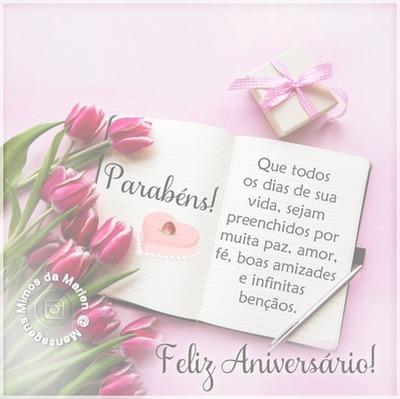 """Parabéns Feliz Niver! By""""Maria Ribeiro"""""""
