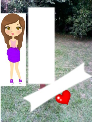 muñeca png+tu foto+texto