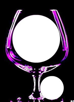 wine glass-hdh purple neon 2 pix