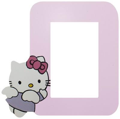 bingkai foto hello kitty