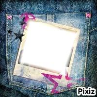 Poches en jean photo