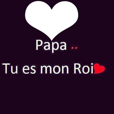 coeur papa