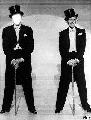 visage avec fred Astaire