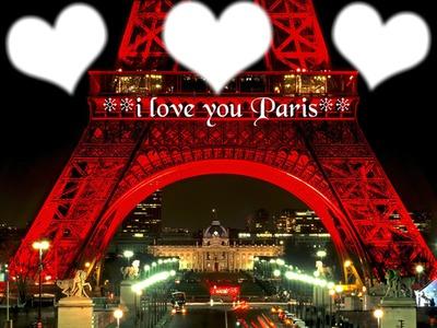 i love you Paris