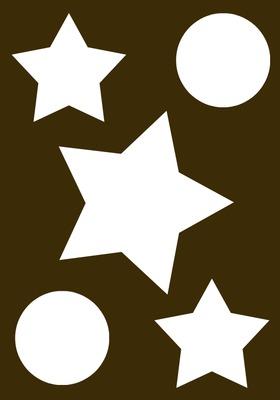 étoiles cercles