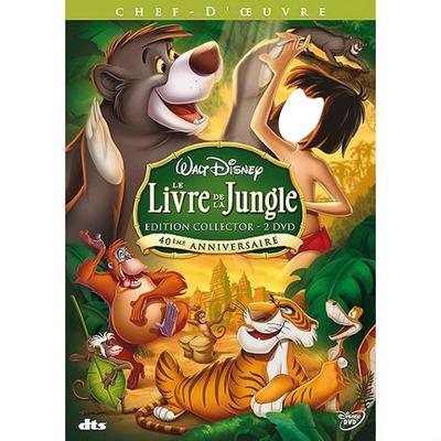 Photo Montage Le Livre De La Jungle Pixiz