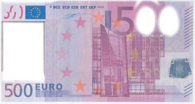 Billets de 500 euro