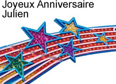 Fotomontage Joyeux Anniversaire Julien Pixiz