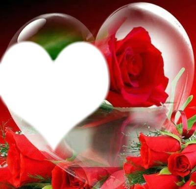 Cadre boule coeur