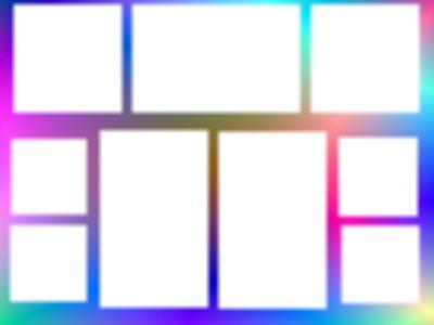Multi cadre fluo