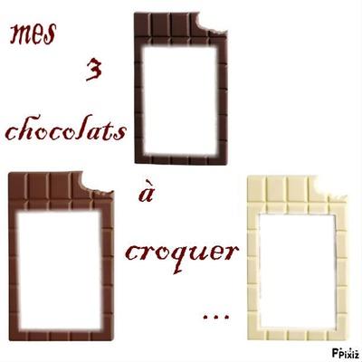 3 chocolats