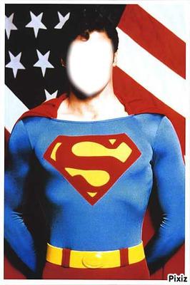 Heros Annee 70 photo montage superman année 70 - pixiz